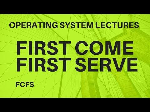 Video 17:-CPU Scheduling First Come First Serve FCFS Question 1