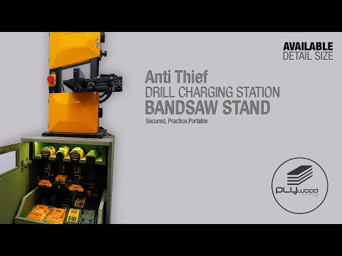 Drill Charging Station Bandsaw Stand