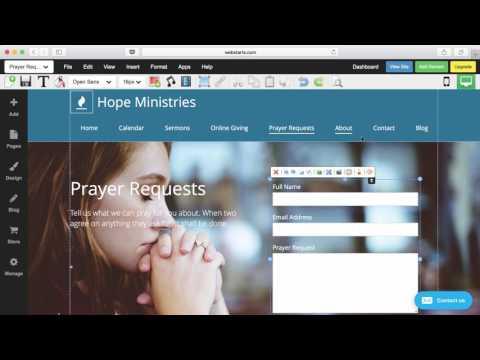 How To Create A Church Website