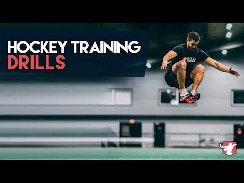 Hockey Dryland Training Drills [By Position] 🏒
