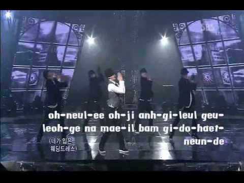 taeyang - wedding dress (karaoke) NO BACKGROUND VOCALS + LYRICS ON SCREEN