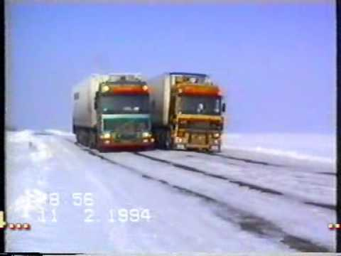 Extreme Trucking - Holland to Kazakhstan Winter 1194 - Rynart Trucking