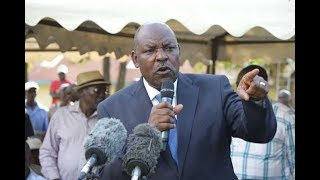 Drama at Kisumu aspirants' meeting after governor Ranguma and MP Fred Outa clash
