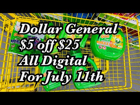 🔥Dollar General GAIN HAUL July 11, 2020🔥Amazing Stacking