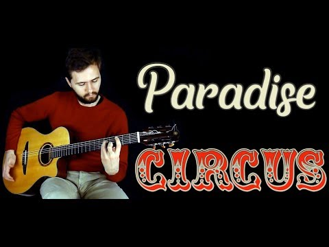 (Massive Attack) - Paradise Circus - Fingerstyle guitar (Acoustic cover)