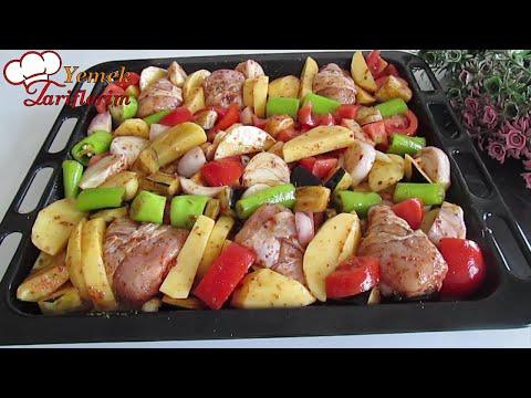 Dünyanın En Kolay Ana Yemeği ✅ Fırında Patatesli Tavuk Tarifi 👉 En Hızlı Fırında Tavuklu Patates