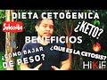 DIETA CETOGENICA Y CETOSIS EN MENOS DE 5 MINUTOS | KETO DIET | HIKIF