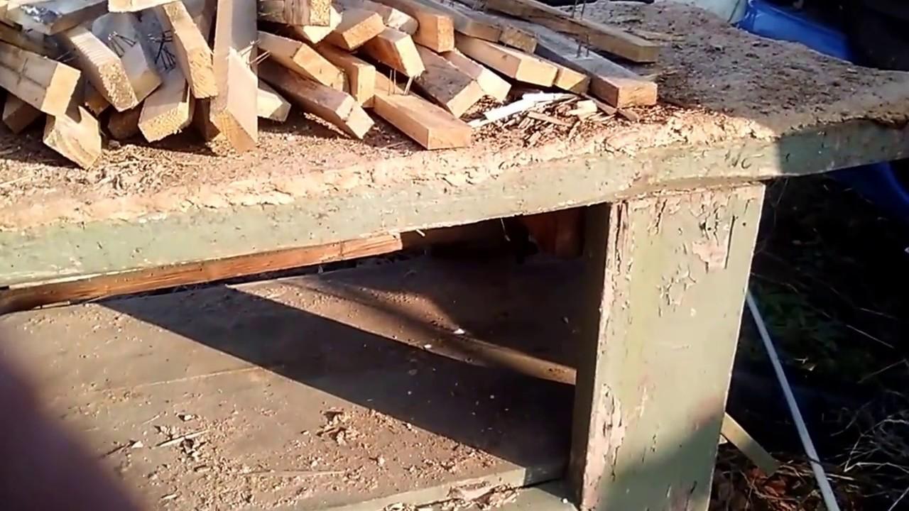 Banco Da Falegname Antico restaurare un vecchio banco da lavoro parte1 gdagreenhouse
