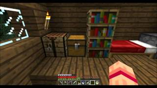 Return to Minecraft Solo part 87: Shops are finished