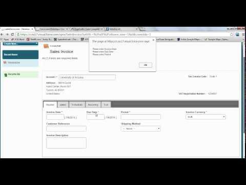 Develop a responsive Sales Invoice UI in Salesforce