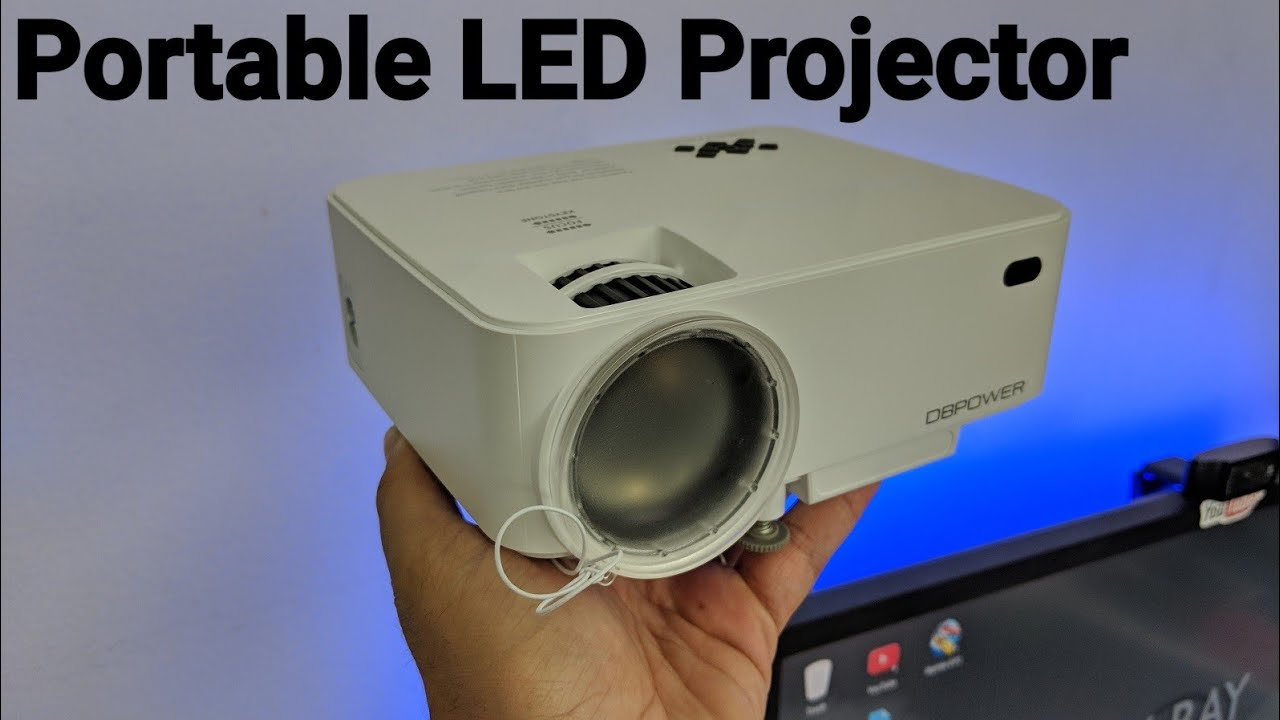 Dbpower t21 led projector review hdmi usb vga usb screen for Mirror projector review