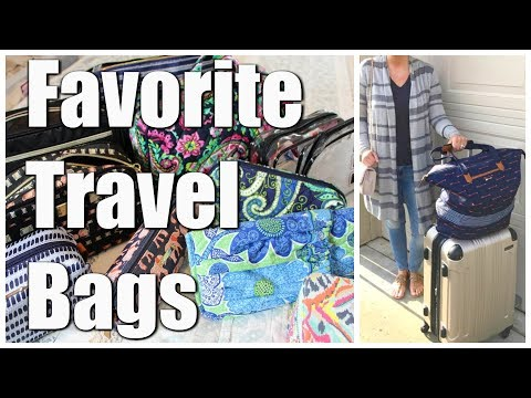 FAVORITE TRAVEL BAGS | Luggage, Carry On, Makeup, Jewelry, etc.