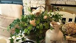 COFFEE TABLE DECORATING IDEAS - URBAN FARMHOUSE/RUSTIC GLAM DECOR