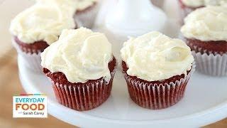 Red Velvet Cupcakes - Everyday Food With Sarah Carey