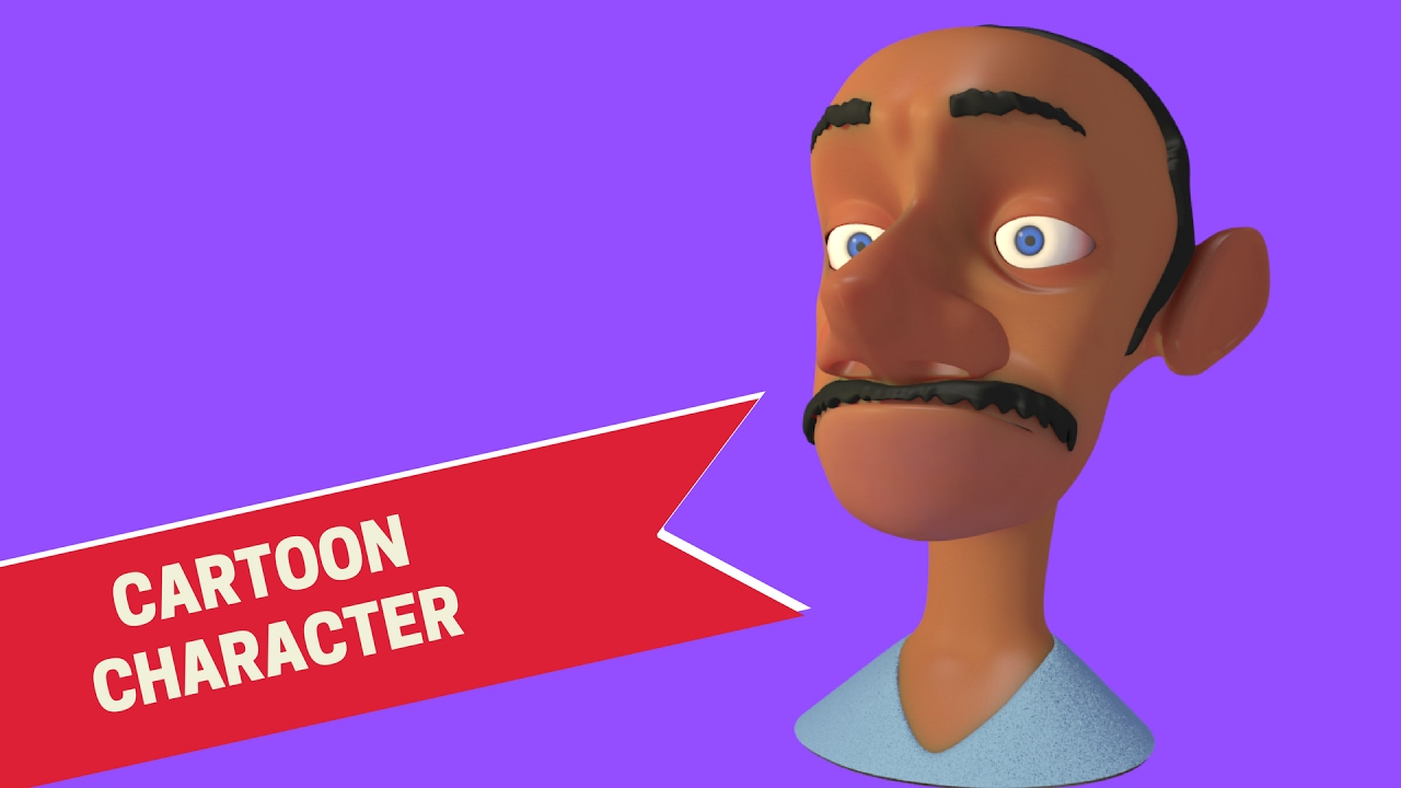 Blender Modeling A Cartoon Character : Modeling cartoon character head in blender