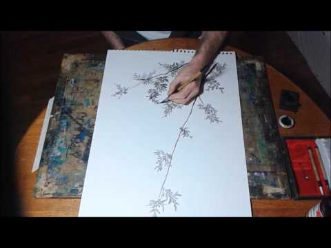 Chinese Sumi Ink Painting