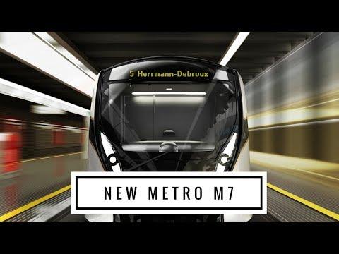 Nouveau métro - Nieuwe metro