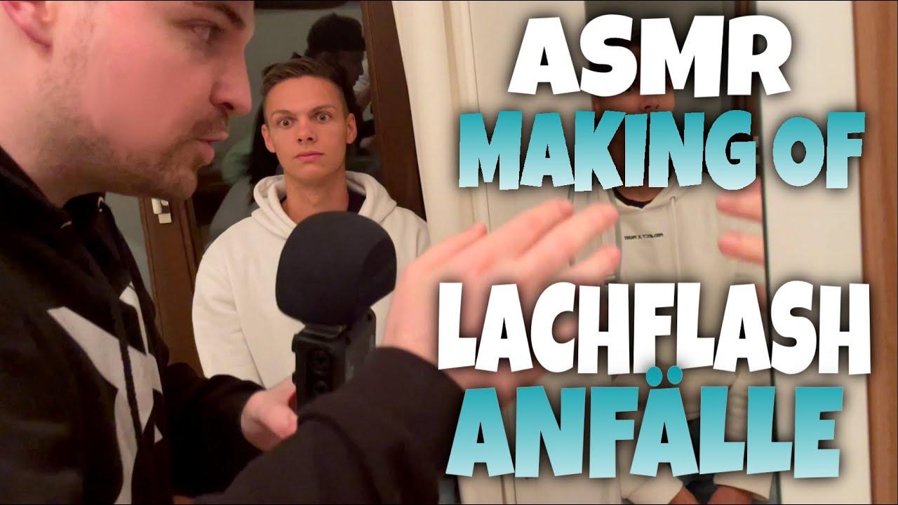 ASMR Making of LACHEN Edition   Hinter den Kulissen   Deutsch