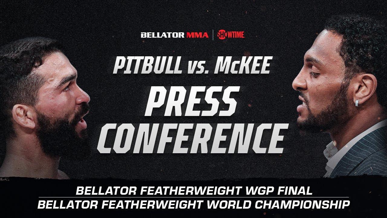 Bellator 263: Press Conference | Pitbull vs. McKee | BELLATOR MMA x SHOWTIME