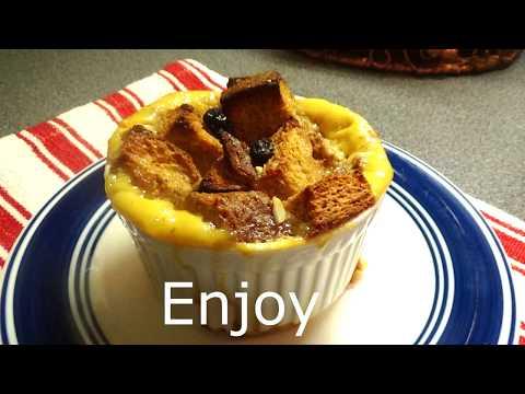 Easy Whole Wheat Bread Pudding