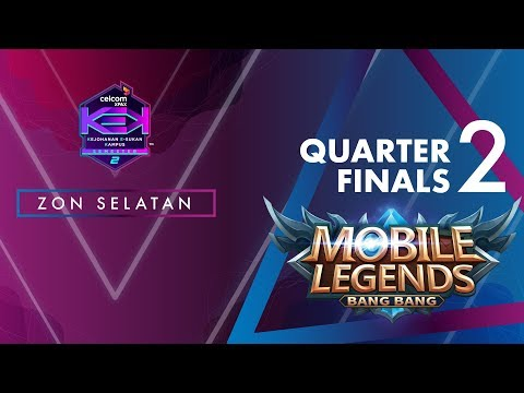 MLBB CELCOM #XPAXKEK SEM 2 Quarter Final 2 - Team Blank [UTHM] vs K'Esport [KUIM]