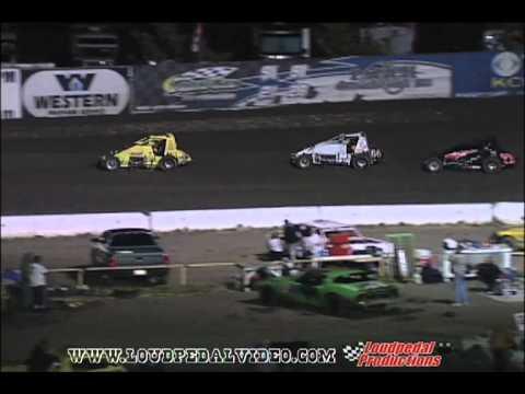 Santa Maria Speedway 8-14-10 USAC/CRA Sprint Cars