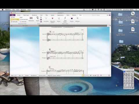 Sibelius Notation Tutorial 5: Adding Stave Text, Music Copy, Octave Shifting, Zoom