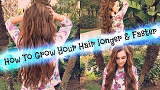 How To Grow Your Hair Longer & Faster