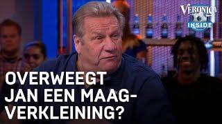 Jan Boskamp wil niets weten van maagverkleining: 'Lekker eten, man!'