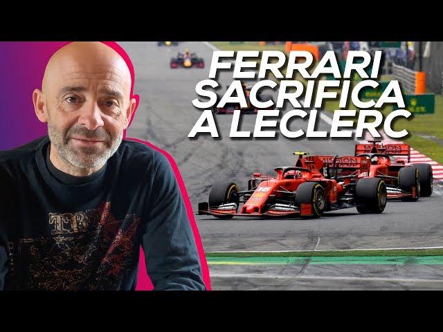 Ferrari sacrifica a Leclerc  - El Garaje de Lobato