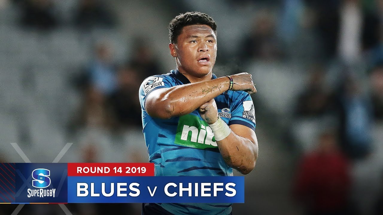 Blues v Chiefs| Super Rugby 2019 Rd 14 Highlights