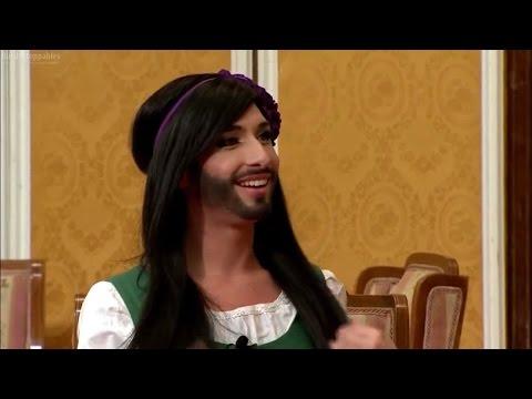 Conchita Wurst bei Wir sind Kaiser Silvesteraudienz 2011 with English subtitles