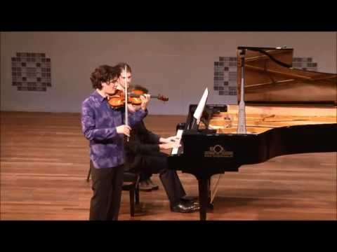 Stravinski, Le Baiser de la Fée, Divertimento; Noé Inui, violin; Vassilis Varvaresos, piano.