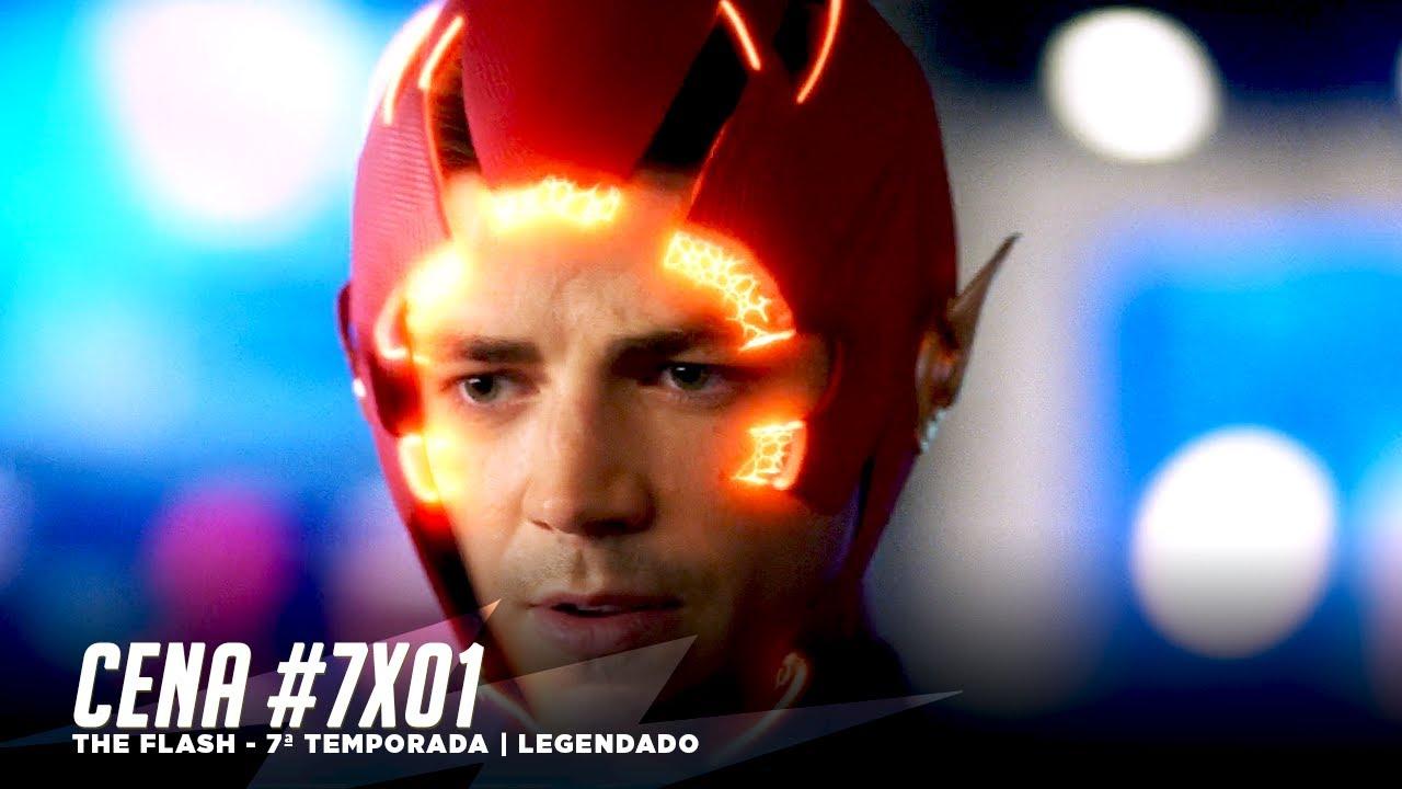 CENA | Flash usa seu novo traje | 7x01 | Legendado (pt-br)