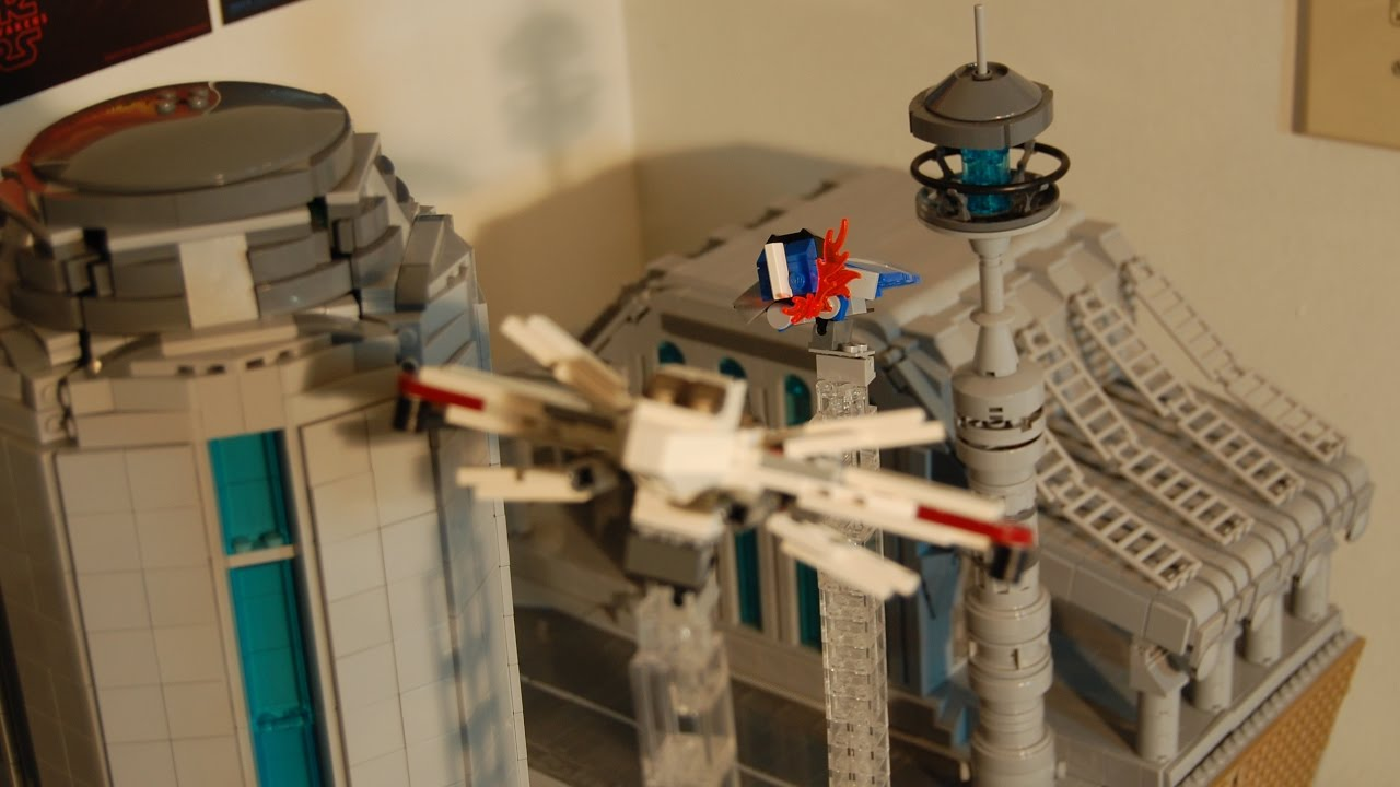 Lego Star Wars Plo Koon S Death Rebellug Order 66 Ep5 Moc Youtube