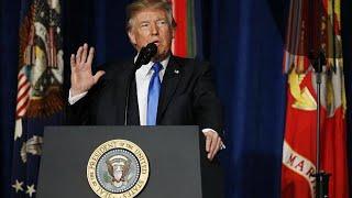 Trump rejeita retirada do Afeganistão