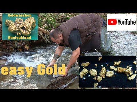 Goldwaschen in Deutschland - 25 - easy Gold