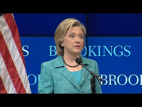 Sec. Hillary Clinton: The Iran nuclear deal makes Israel safer