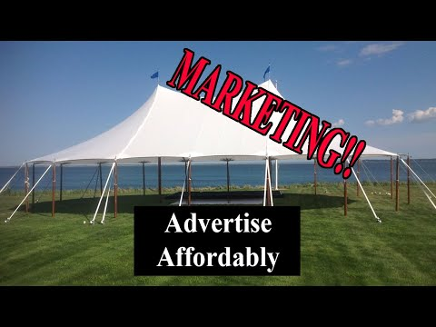 Start An Event Rental Business - Where And How To Advertise