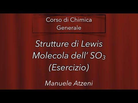 Chimica Generale (Esercizi - Struttura di Lewis SO3)