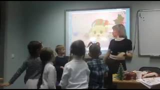 Английский для детей 3-7 лет. Видео с занятия
