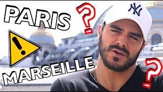 Que préfère Benjamin Samat (LMA) ? Paris ou Marseille ?