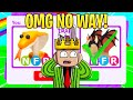 I TRADED the worlds first NEON COBRA (INSANE TRADE adopt me)