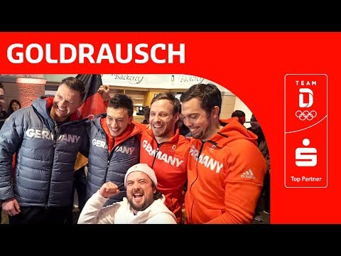 Eric Frenzel und Tobias Wendl/Tobias Arlt sind im Goldrausch🥇 | Team Deutschland | PyeongChang 2018
