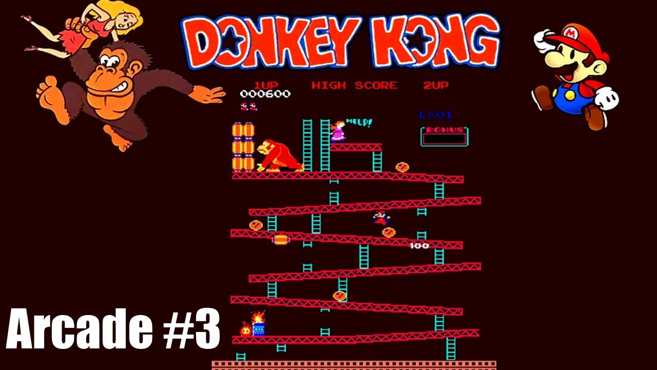 retro games donkey kong