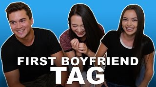 FIRST BOYFRIEND TAG - Merrell Twins