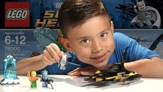 ARCTIC BATMAN vs. MR. FREEZE - Lego Super Heroes Set 76000 Time-lapse Build, Review & Stop Motion