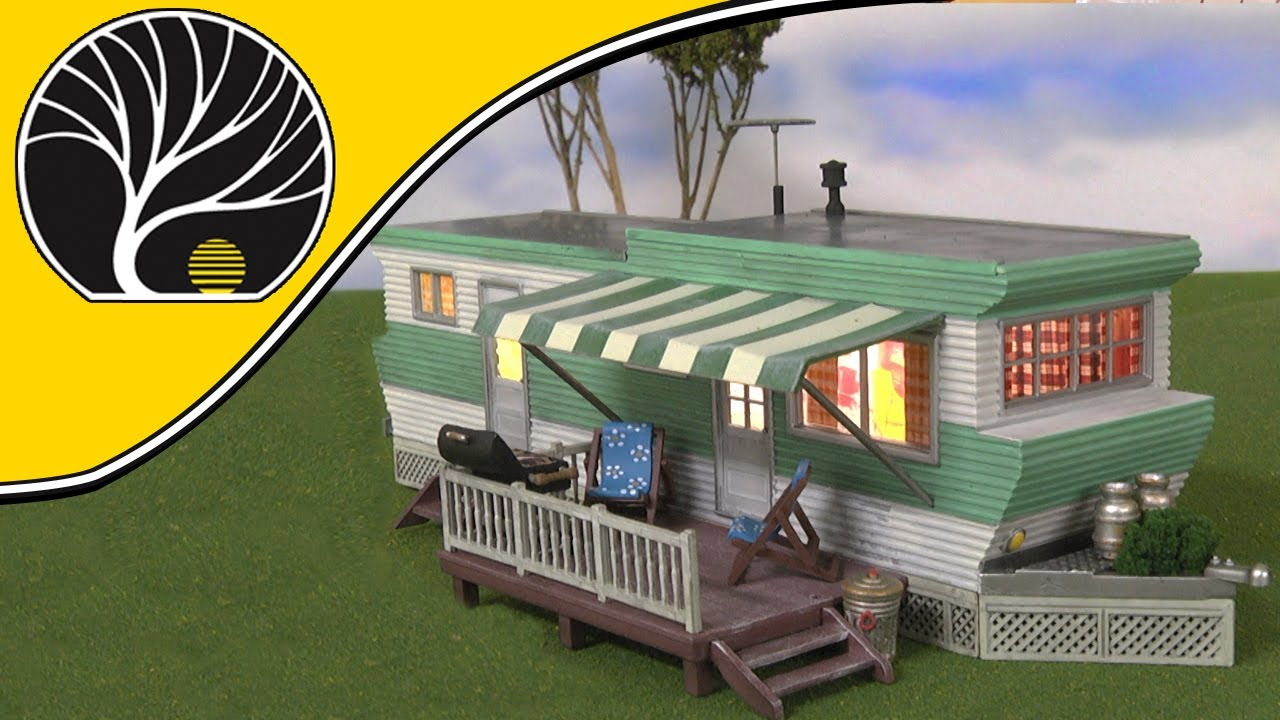 Grillin' & Chillin' Trailer – N, HO, O Scale | Built-&-Ready® | Woodland  Scenics | Model Scenery