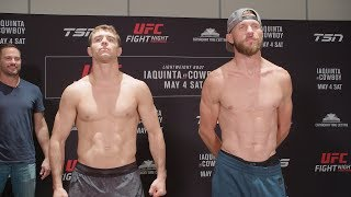 UFC Ottawa: Weigh-in Faceoffs