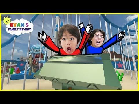 ROBLOX   Visit Disney Land In Roblox! Let's Play With Ryan's Family Review!
